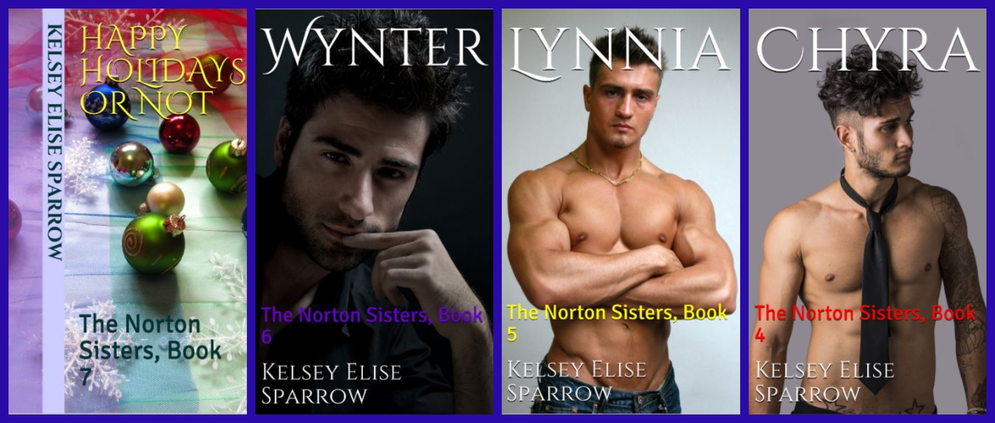 The Norton Sisters - Books 4-7